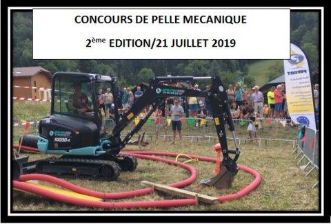 Concours pelle mécanique Kubota Domancy