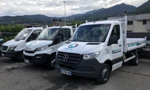 location de camions benne Sallanches